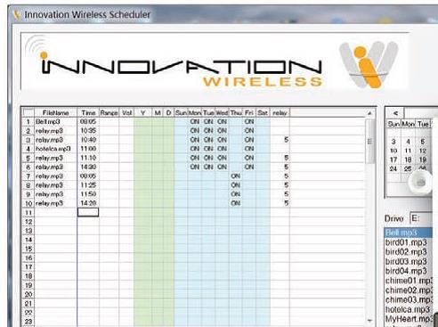 Session Change Scheduler