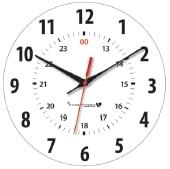 Standard Military 12/24 Analogue Clock Dial