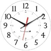 Standard Arabic 12/60 Analogue Clock Dial