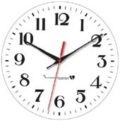 Classic Arabic Analogue Clock Dial