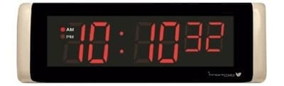 """2.5"""" x 6-Digit Digital LED Countdown Timer with red LED"""