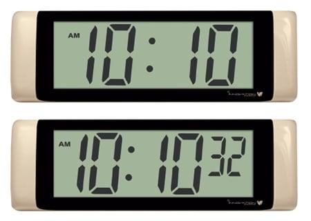 "2.5"" 4 and 6 Digit LCD Clocks"