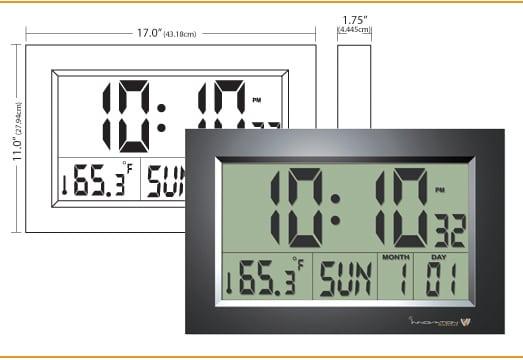 Specs Room image of Multi-Function Digital LCD Clock