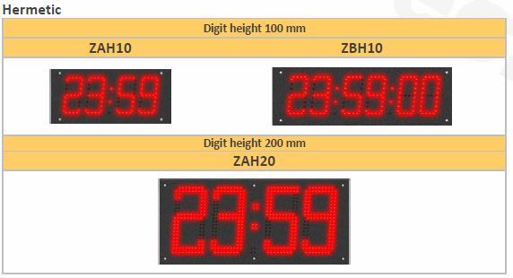 Hermetic Range Weatherproof Clocks