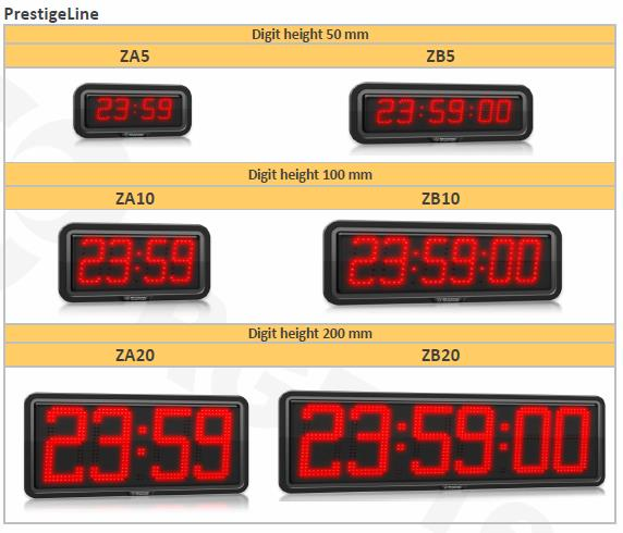 Prestige Line Weatherproof Clocks