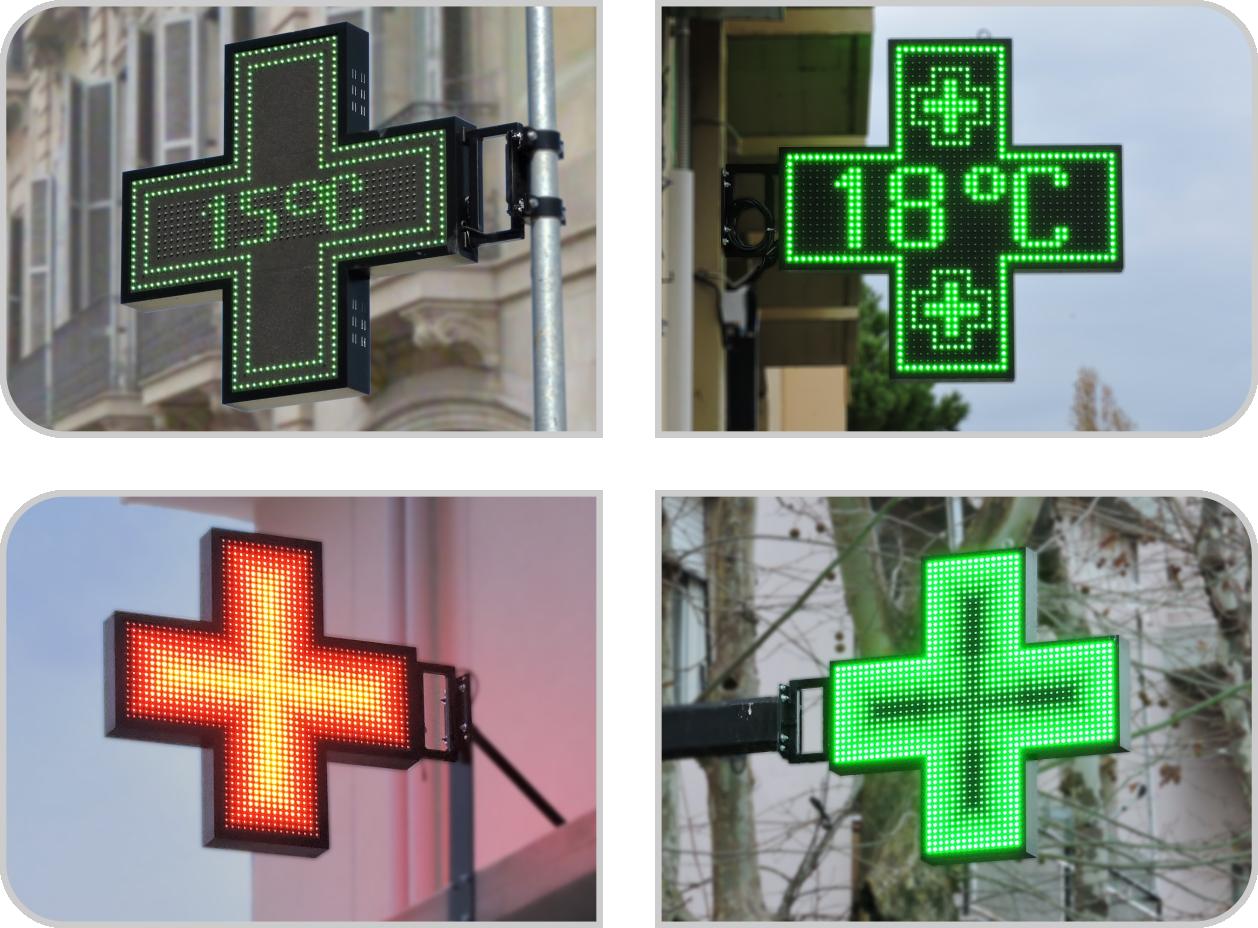 Mono Pharmacy Crosses Typical Installations