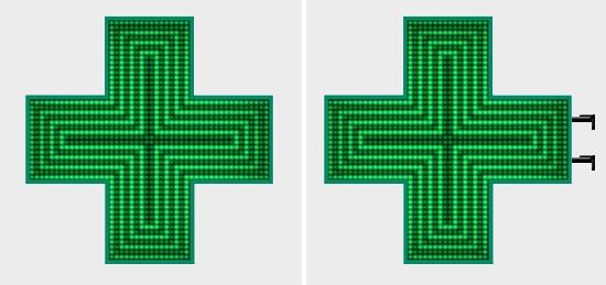 Mono Pharmacy Crosses Installation Examples
