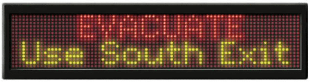 Large Msg Board