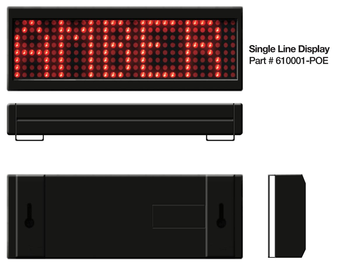 Single Line SMART Message Board
